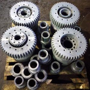 鼓形齿轮气体氮化